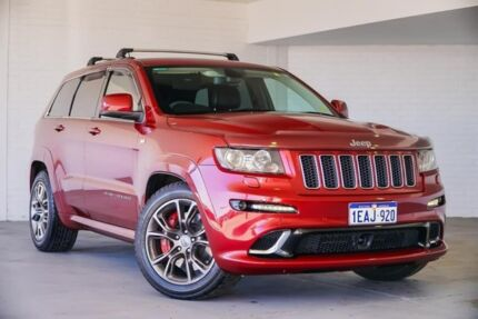 2012 Jeep Grand Cherokee WK MY2012 SRT-8 Red 5 Speed Sports Automatic Wagon