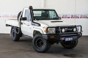 2014 Toyota Landcruiser VDJ79R MY12 Update Workmate (4x4) French Vanilla 5 Speed Manual Cab Chassis Rockingham Rockingham Area Preview