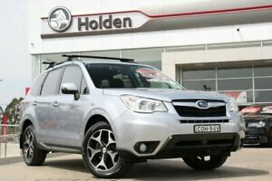 2013 Subaru Forester S4 MY13 2.5i-S Lineartronic AWD Ice Silver 6 Speed Constant Variable Wagon