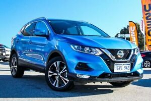 2019 Nissan Qashqai J11 Series 2 ST-L X-tronic Vivid Blue 1 Speed Constant Variable Wagon Cannington Canning Area Preview