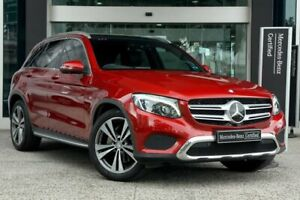 2016 Mercedes-Benz GLC-Class X253 807MY GLC250 d 9G-Tronic 4MATIC Red 9 Speed Sports Automatic Wagon South Melbourne Port Phillip Preview