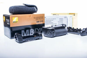 NIKON GENUINE MB-D15 Multi-Power Battery Pack D7100 / D7200
