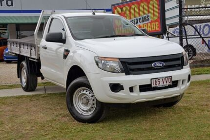 2012 Ford Ranger  White Automatic Utility Capalaba West Brisbane South East Preview