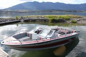 18 1/2' 230HP Open Bow Boat With 5L OMC Cobra. Ready To Go.