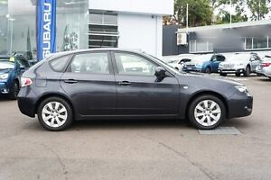 2010 Subaru Impreza G3 MY10 RX AWD Dark Grey 4 Speed Sports Automatic Hatchback Brookvale Manly Area Preview