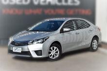 2014 Toyota Corolla ZRE172R Ascent S-CVT Silver 7 Speed Constant Variable Sedan Berwick Casey Area Preview