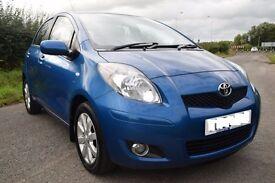 2011 Toyota Yaris 1.4 D4D(6) T Spirit 5 Dr-1 Owner-FINANCE AVAILABLE- Sat Nav - £20 Roadtax - 70 MPG