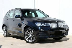 2015 BMW X3 F25 LCI xDrive30d Steptronic Blue 8 Speed Sports Automatic Wagon Liverpool Liverpool Area Preview