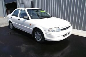2000 Ford Laser KN LXI White 4 Speed Automatic Sedan Huntfield Heights Morphett Vale Area Preview