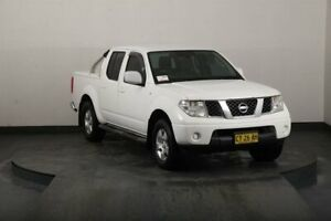 2011 Nissan Navara D40 ST (4x4) White 6 Speed Manual Dual Cab Pick-up Smithfield Parramatta Area Preview