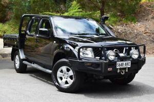 2010 Nissan Navara D40 ST Black 5 Speed Automatic Utility St Marys Mitcham Area Preview