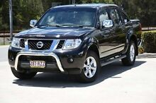 2011 Nissan Navara D40 S6 MY12 ST-X 550 Black 7 Speed Sports Automatic Utility Helensvale Gold Coast North Preview