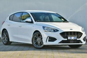 2018 Ford Focus SA 2019MY ST-Line White 8 Speed Automatic Hatchback Dandenong Greater Dandenong Preview