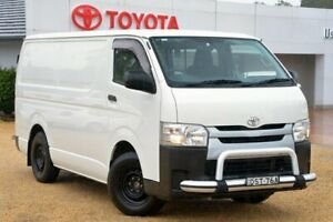2015 Toyota HiAce KDH201R MY15 LWB White 4 Speed Automatic Van Wyong Wyong Area Preview