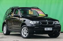 2006 BMW X3 E83 MY07 2.5SI Black 6 Speed Steptronic Wagon Ringwood East Maroondah Area Preview
