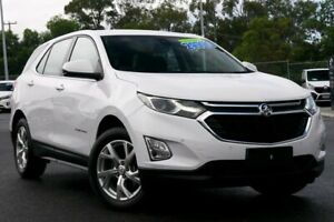 2018 Holden Equinox EQ MY18 LT FWD White 9 Speed Sports Automatic Wagon Hillcrest Logan Area Preview