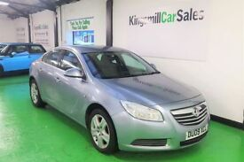 VAUXHALL INSIGNIA 1.8 EXCLUSIV 4d 140 BHP (silver) 2009