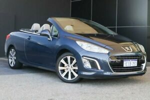 2013 Peugeot 308 T7 MY13 CC Allure Blue 6 Speed Sports Automatic Convertible