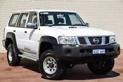 2012 Nissan Patrol Y61 GU 8 DX White 4 Speed Automatic Wagon Bayswater Bayswater Area Preview