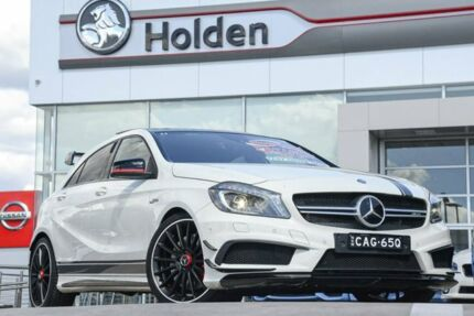 2014 Mercedes-Benz A-Class W176 White 7 Speed Sports Automatic Dual Clutch Hatchback Liverpool Liverpool Area Preview