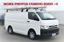 2010 Toyota Hiace KDH201R MY10 LWB White 5 Speed Manual Van Berwick Casey Area Preview