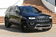 2014 Jeep Grand Cherokee WK MY15 Limited Black 8 Speed Sports Automatic Wagon Ashmore Gold Coast City Preview