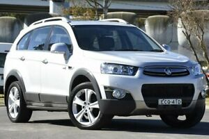 2013 Holden Captiva CG MY13 7 LX (4x4) Silver 6 Speed Automatic Wagon