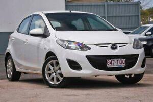 2013 Mazda 2 DE Series 2 Neo White Manual Kedron Brisbane North East Preview