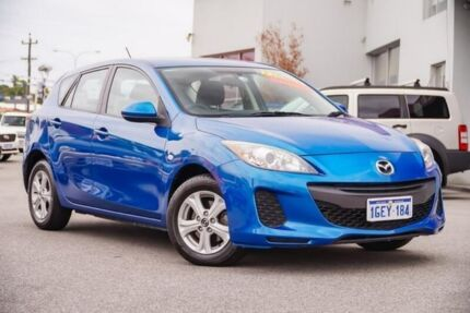2013 Mazda 3 BL10F2 MY13 Neo Activematic Blue 5 Speed Sports Automatic Hatchback Myaree Melville Area Preview