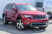 2013 Jeep Grand Cherokee WK MY2014 Limited Burgundy 8 Speed Sports Automatic Wagon Southport Gold Coast City Preview