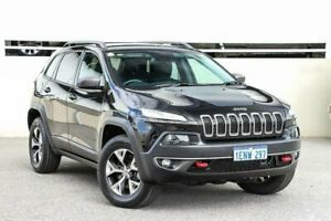 2014 Jeep Cherokee KL Trailhawk (4x4) Black 9 Speed Automatic Wagon Cannington Canning Area Preview