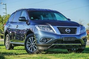 2016 Nissan Pathfinder R52 MY15 ST X-tronic 2WD Blue 1 Speed Constant Variable Wagon Hybrid Wangara Wanneroo Area Preview