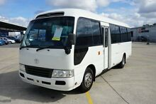 2007 Toyota Coaster XZB50R 07 UPGRA STANDARD (LWB) White Bus Old Guildford Fairfield Area Preview
