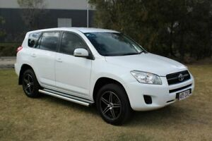 2012 Toyota RAV4 ACA38R MY12 CV 4x2 White 4 Speed Automatic Wagon Ormeau Gold Coast North Preview