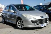 2007 Peugeot 307 MY06 Upgrade XS 1.6 Silver 4 Speed Tiptronic Hatchback Glendalough Stirling Area Preview