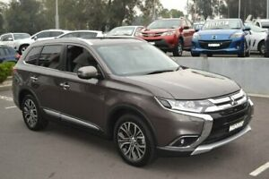 2017 Mitsubishi Outlander ZL MY18.5 Exceed AWD Bronze 6 Speed Sports Automatic Wagon Maitland Maitland Area Preview