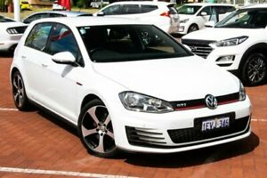 2015 Volkswagen Golf VII MY15 GTI DSG White 6 Speed Sports Automatic Dual Clutch Hatchback Myaree Melville Area Preview
