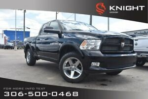 2012 Ram 1500 Sport | Leather | Heated & Cooled Seats | Bluetoot
