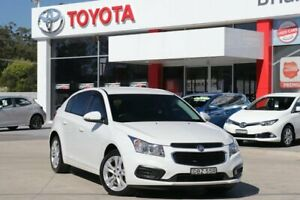 2015 Holden Cruze JH MY14 Equipe White 6 Speed Automatic Hatchback Wyoming Gosford Area Preview