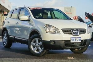2009 Nissan Dualis J10 MY10 ST (4x2) White 6 Speed CVT Auto Sequential Wagon Glendalough Stirling Area Preview