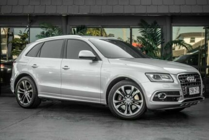 2013 Audi SQ5 8R MY14 TDI Tiptronic Quattro Silver 8 Speed Sports Automatic Wagon Bowen Hills Brisbane North East Preview