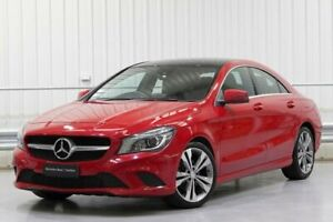 2013 Mercedes-Benz CLA-Class C117 CLA200 Red Sports Automatic Dual Clutch Parramatta Parramatta Area Preview