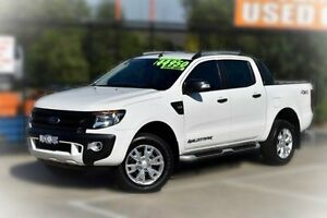 2014 Ford Ranger PX Wildtrak Double Cab White 6 Speed Sports Automatic Utility Berwick Casey Area Preview