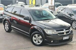 2011 Dodge Journey JC MY10 SXT Black 6 Speed Automatic Wagon Watsonia Banyule Area Preview