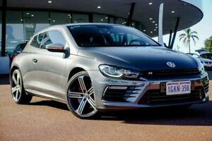 2016 Volkswagen Scirocco 1S MY17 R Coupe DSG Grey 6 Speed Sports Automatic Dual Clutch Hatchback Wangara Wanneroo Area Preview