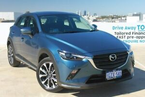 2020 Mazda CX-3 DK2W7A sTouring SKYACTIV-Drive FWD Blue 6 Speed Sports Automatic Wagon Osborne Park Stirling Area Preview