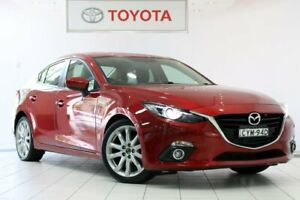 2015 Mazda 3 BM5238 SP25 SKYACTIV-Drive GT Red 6 Speed Sports Automatic Sedan Waterloo Inner Sydney Preview