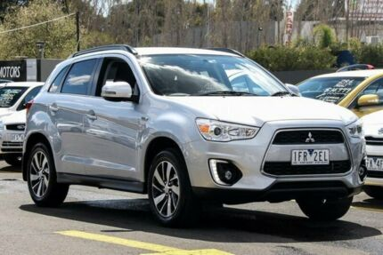 2014 Mitsubishi ASX XB MY14 (2WD) Silver Continuous Variable Wagon Ringwood East Maroondah Area Preview