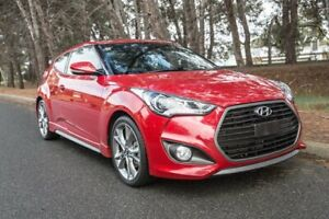 2016 Hyundai Veloster FS4 Series II SR Coupe D-CT Turbo Red 7 Speed Sports Automatic Dual Clutch Reynella Morphett Vale Area Preview