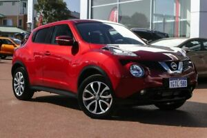 2018 Nissan Juke F15 MY18 Ti-S X-tronic AWD Red 1 Speed Constant Variable Hatchback Clarkson Wanneroo Area Preview